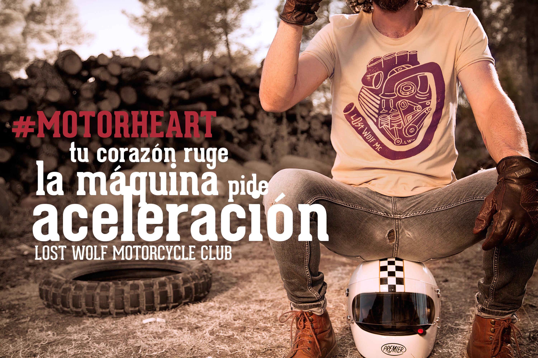 camiseta motera MOTORHEART