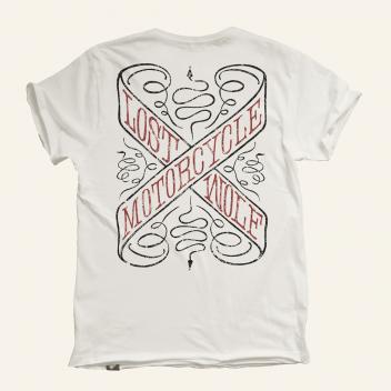camiseta motero SNAKEPIT color crudo orgánico