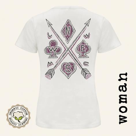 Camiseta motera mujer ARROWS