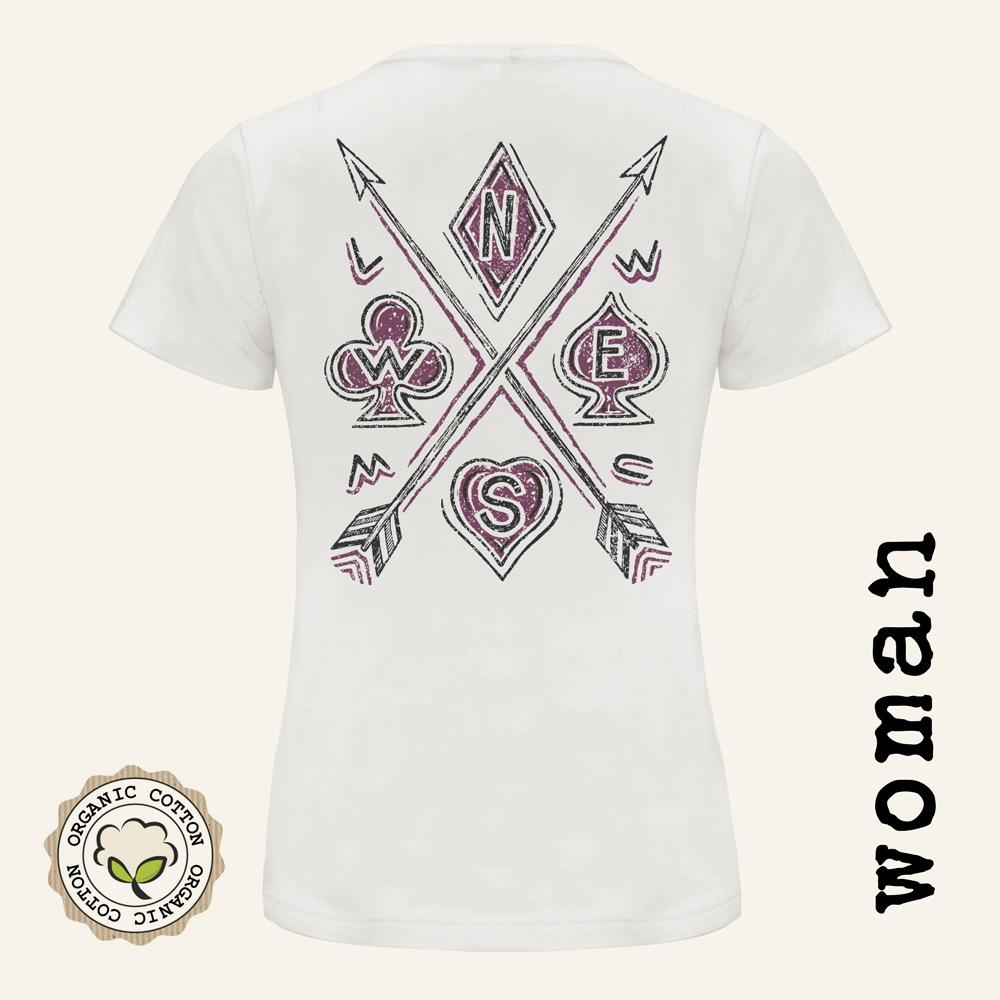 Camisetas moteras mujer ARROWS