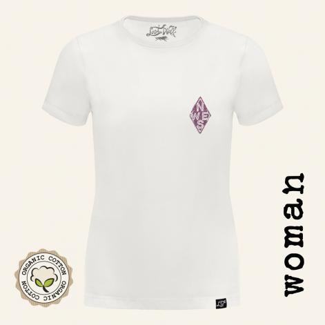 Camisetas moteras mujer ARROWS delante