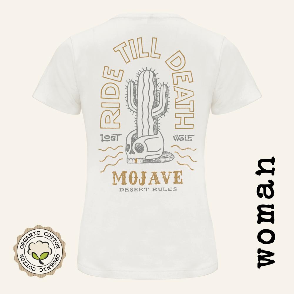 Camisetas moteras mujer  Mojave back