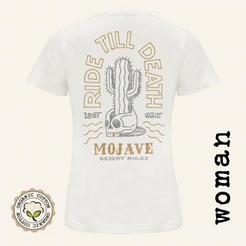 Camiseta motera mujer  Mojave