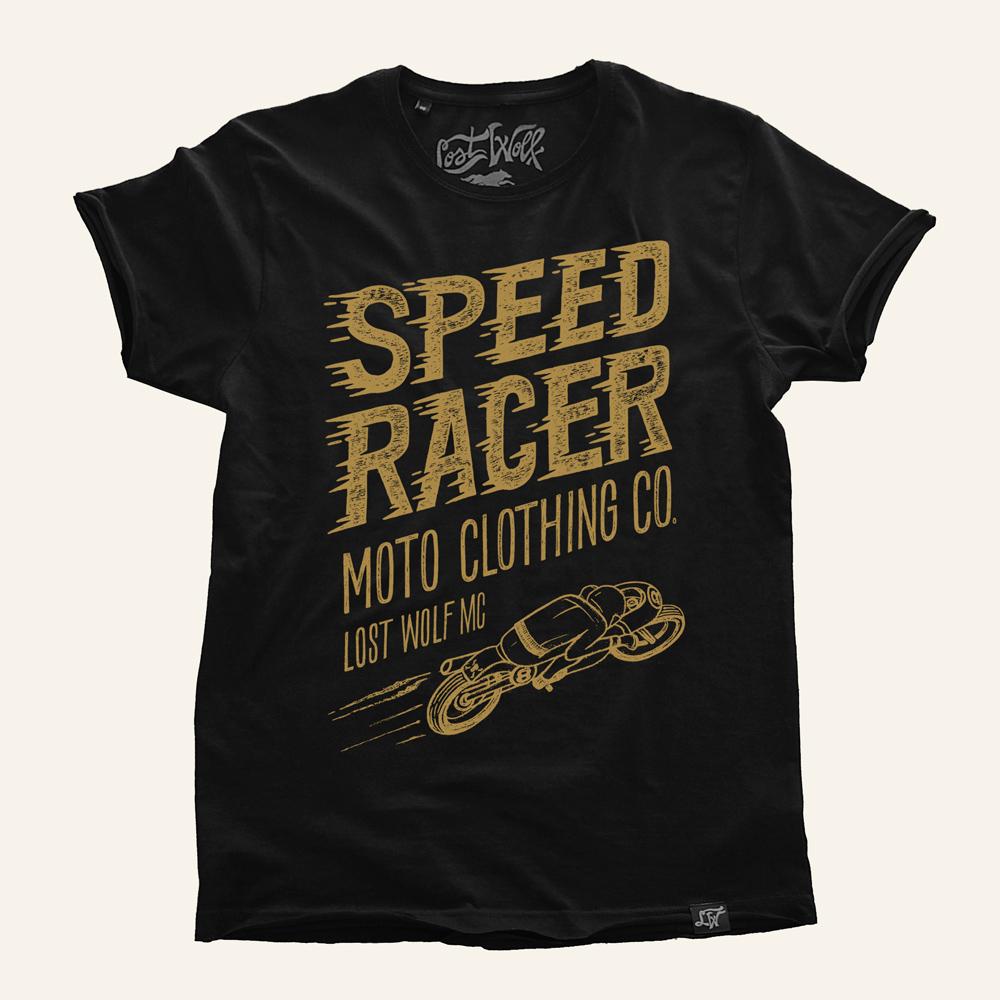 Camiseta motera Speed Racer