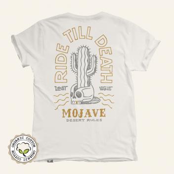 Camiseta motero calavera cactus MOJAVE desert