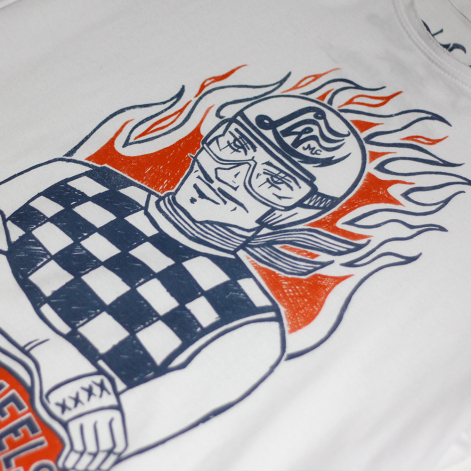 camisetas moteras Hell on Wheels Lost Wolf