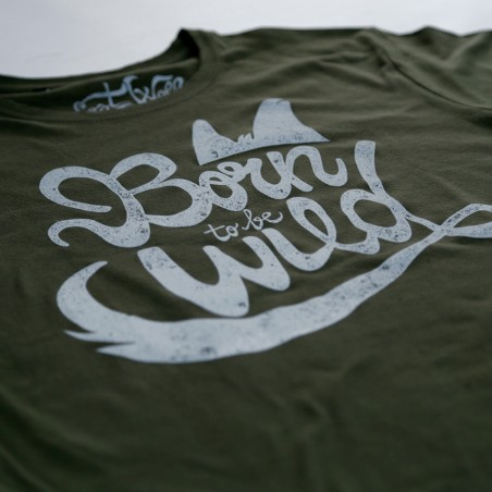 camiseta motero Born to be wild