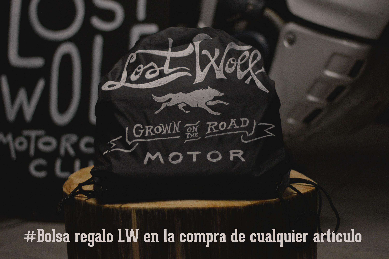 Bolsa regalo Lost Wolf en la compra de cualquier artículo.
