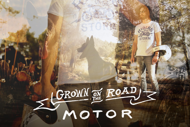 Camiseta hombre motero RIDERS ON THE STORM